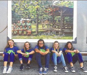 Girls Scouts receive bronze award