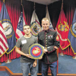 Brown joins Marine Corps