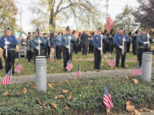 Veterans recognized at Tracy Park