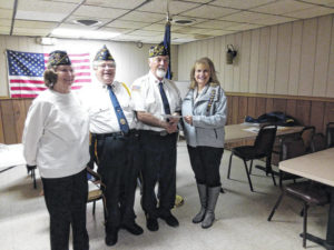 American Legion James Dickey Post 23 received donation