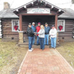 William A. Baker of Post 363 receives donation