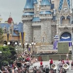 West band performs at Disneyland