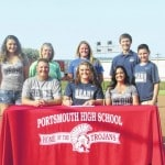 Portsmouth's Williams chooses softball at SSU