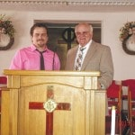 Father and son, pastors of two local congregations