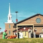 Rubyville Church has Nativity scene on display