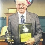 Rapp recognized for 65 years in ministry