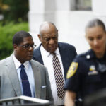 Growing frenzy outside court as Cosby deliberations wear on