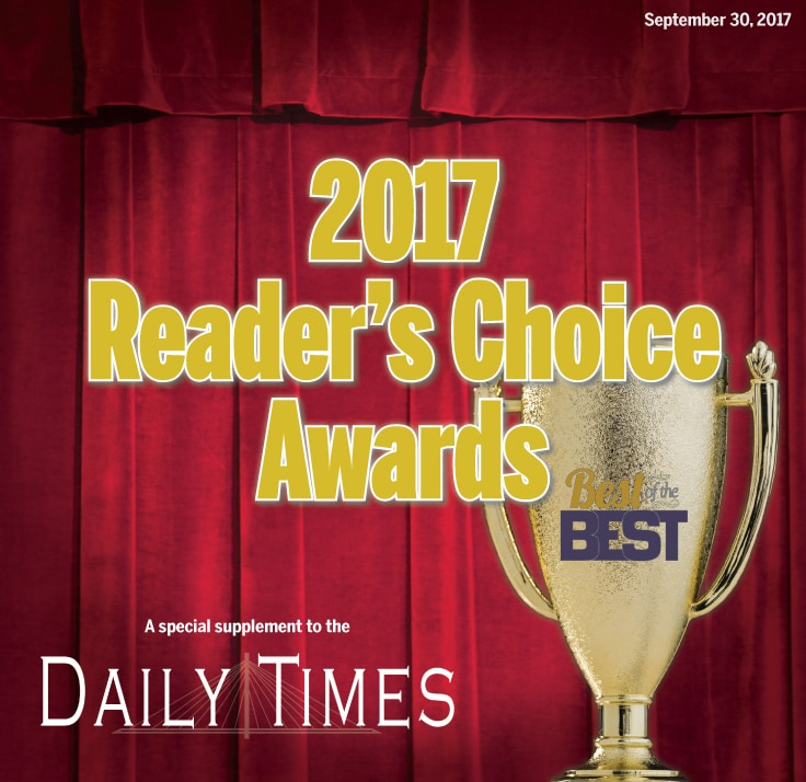 2017 Reader's Choice
