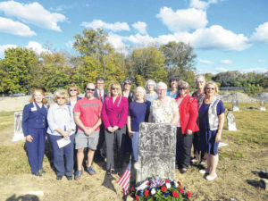 Chapter honors history of local cemetery