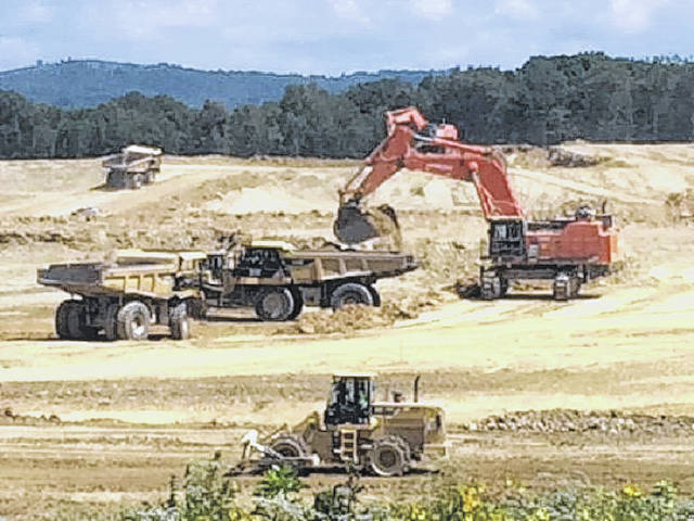 Preparation continues for a radioactive waste disposal site in Piketon, a plan with growing opposition.