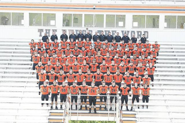 The 2017 Wheelersburg Pirates' football roster.
