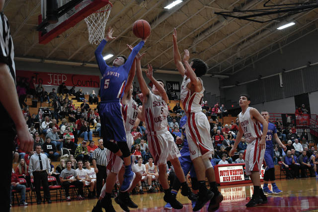 Northwest's Mason Campbell had a huge night for the Mohawks with a team-high 15 points.