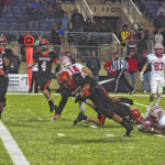 Pirates the standard in 21-14 OT thriller