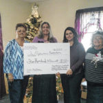 Social Workers Alliance gives to two local charitites