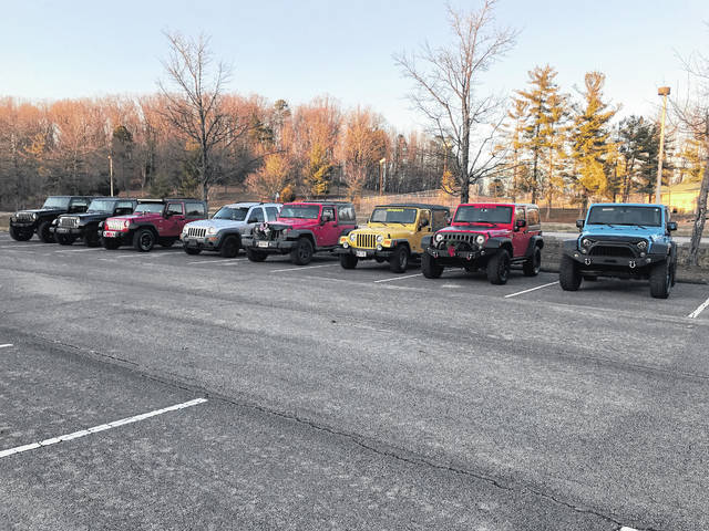 10 Jeeps and 20 owners attended Saturday's outing.