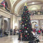 Commissioners hold Tree Lighting