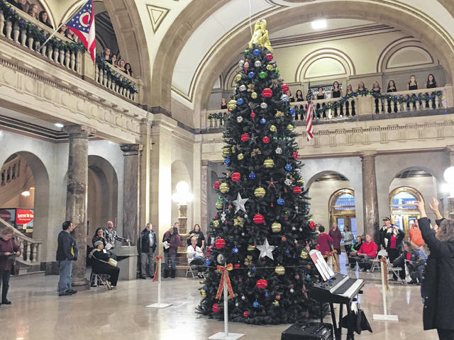Christmas tree lighting keeps holiday spirit alive