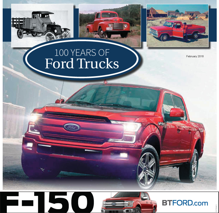 100 Years of Ford Trucks