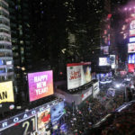 Crystal ball drops in frigid Times Square to mark 2018