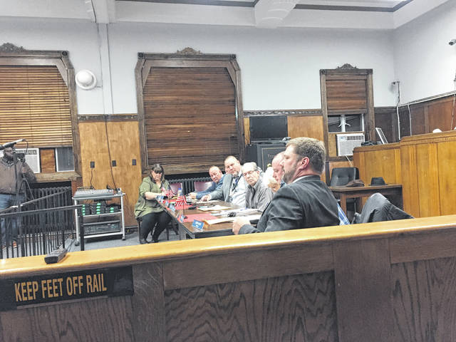 City Solicitor John Haas discusses the injuction presented to Council.