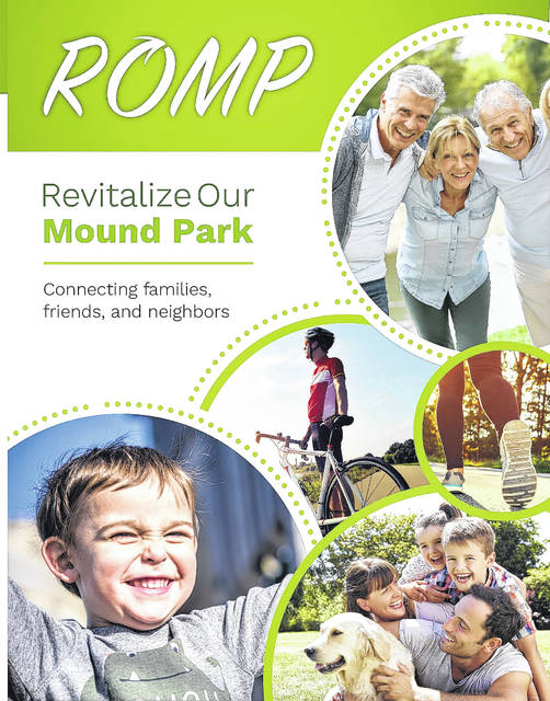 Front of a pamphlet for project ROMP through Connex