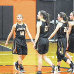 Dragons oust Pirates, 61-34