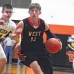 Clutch plays lead West past West Union, 54-42