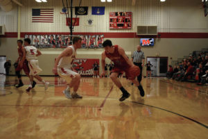 Falcons fly past Jeeps on Senior Night, 55-44