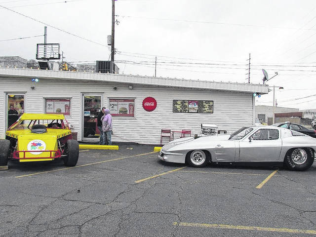 Jim Dandy last year during the car show, part of the event