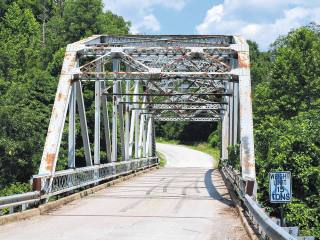 Bridge projects began Friday in Greenup County when contractors start repairs, cleaning and painting at the Jeremy Gullett Memorial Bridge on state highway 2 where the bridge crosses the Little Sandy River.