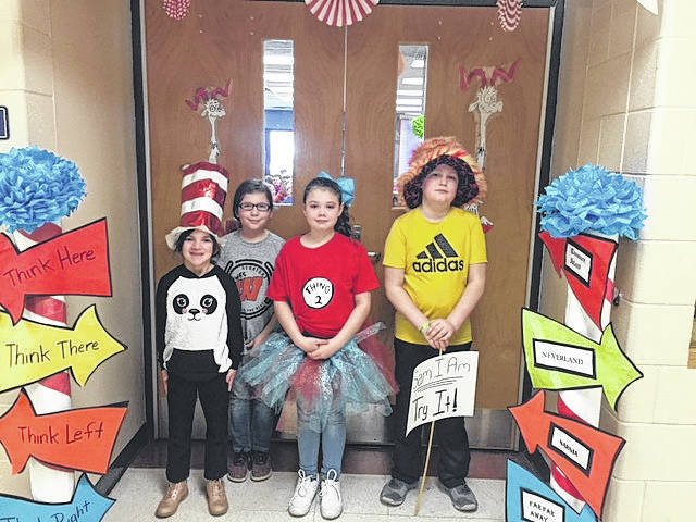 West Students of the Month: Picture Left to Right: Ava Klaiber, Kayleigh Craft, Makenna Bentley, Charlie Pollitt