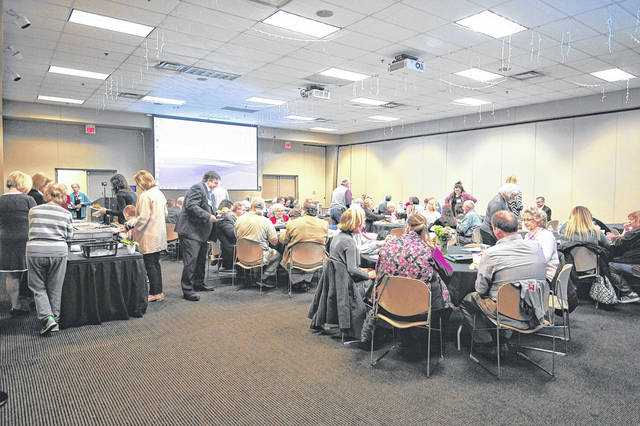 Business and community leaders gathered for the annual meeting of the Scioto Foundation.