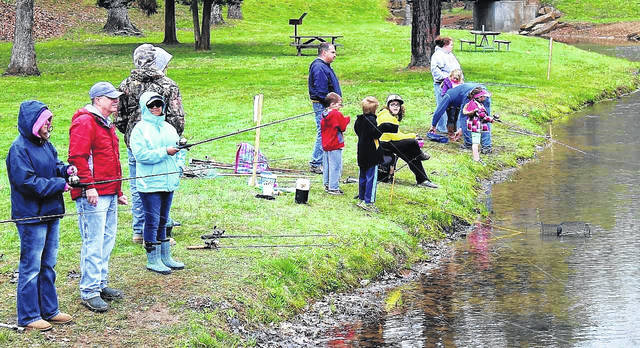 The Ohio Division of Wildlife will stock Turkey Creek Lake with trout just prior to the April 28 Trout Derby so that the chances are better for catching a fish.