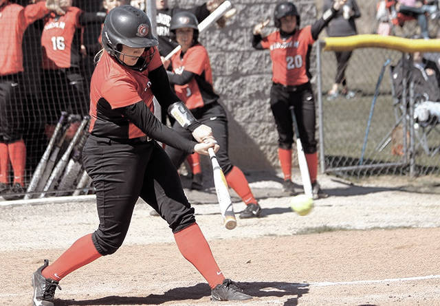 Rio Grande's Mary Pica collected three hits, including a home run and a double, and drove in four RedStorm runners during Friday's sweep of OU-Chillicothe.