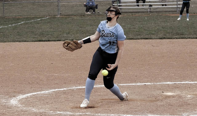 Shawnee State's Tatum Wise threw a no-hitter in the third of four contests against Cumberlands (Ky.) on Saturday afternoon. The Bears took home a 2-1 victory as a result.