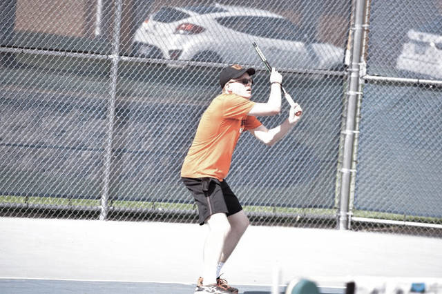 Wheelersburg's Drew Jackson will play against Lexington's Benton Drake on Friday morning in the opening round of the OHSAA Division II State Tennis Tournament. The junior became the first Wheelersburg hand to ever qualify for two singles tournaments at the state realm by winning the East/Southeast District Tournament last Saturday in Athens.
