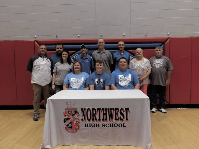 Northwest's Hunter Berry signed to play college soccer at Ohio Christian University on Friday.
