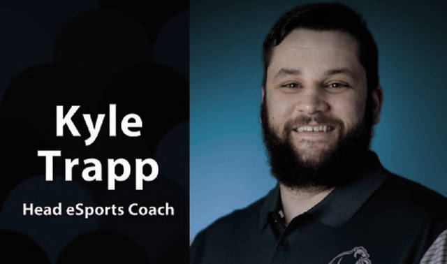 Shawnee State University's Kyle Trapp could have as many as 45 individuals on the inaugural version of the SSU eSports roster in 2018-19. The eSports industry is expected to have 580 million viewers by 2021.