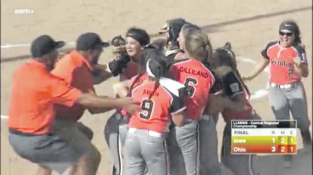 Euphoria for the Pirates as they celebrate their Central Region title
