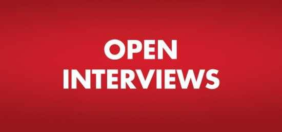 Open Interviews & Immediate Offers Available! Friday 10/5/18 11am-2pm