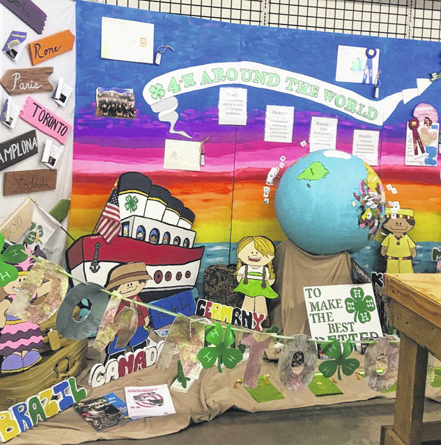 The Around the World 4H Booth