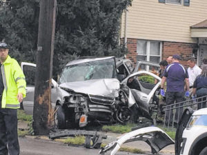 Two injured in separate accidents